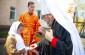 Митрополит Владимир поздравил учащих и учащихся Славянской школы в честь святых равноапостольных Кирилла и Мефодия с Пасхой Христовой