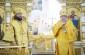 В праздник Всех святых митрополит Омский и Таврический Владимир и епископ Магнитогорский и Верхнеуральский Зосима совершили Литургию в Успенском кафедральном соборе