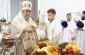 В праздник Преображения Господня митрополит Владимир совершил Литургию в Успенском кафедральном соборе