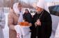 Митрополит Владимир поздравил прихожан храма Архистратига Михаила микрорайона Первокирпичный