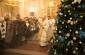 Митрополит Владимир совершил Литургию и молебен святителю Спиридону Тримифунтскому в Успенском кафедральном соборе