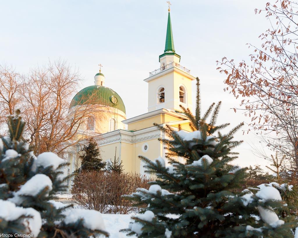 Собор святителя Николая Чудотворца города Омска