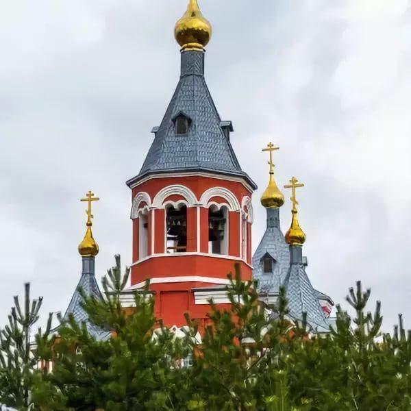 Николо-Игнатьевский храм города Омска