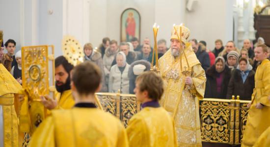 Воскресная служба в Успенском соборе_Омск_IMG_5444_января 04, 2015_14