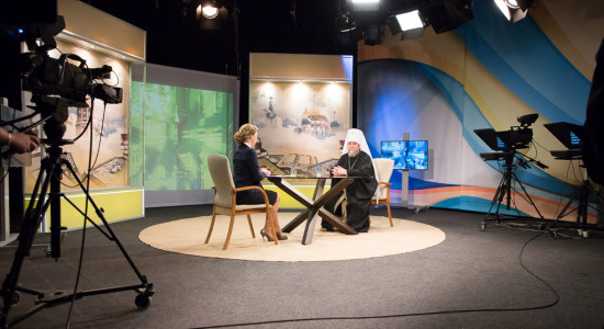 17 апреля в 19.15 прямой эфир с митр. Владимиром