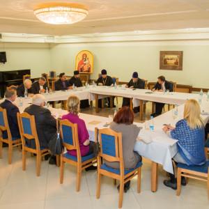 20150928 024 заседание оргкомитета по строительству Серафимо-Вырицкой обители Омск митр. Владимир (Иким) IMG_0111