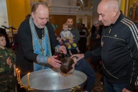 20151205 018 таинство православной церкви Крещение Свято-Никольский казачий собор Омск IMG_607411