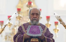 В день установления Таинства Евхаристии митрополит Владимир совершил Божественную Литургию