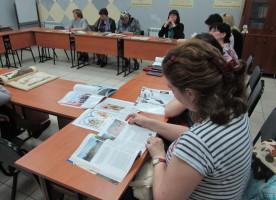 Состоялась выставка литературы и мультимедийных материалов  литературно-исторической панорамы «Соль земли Омской»