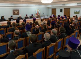 Духовенство Омской епархии обсудило вопросы епархиальной и приходской жизни