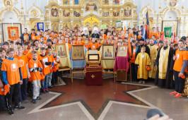 Омская епархия встретила миссионерскую экспедицию «Славянский ход»