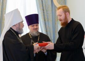 Первый выпускной акт в Омской Духовной семинарии