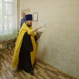 022 20160726 Чин освящения социальной гостиницы Омск митр. Владимир (Иким) DSC02309