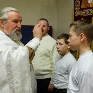 20161120 005 Крещение Кадетов Собор Успения Омск IMG_0693