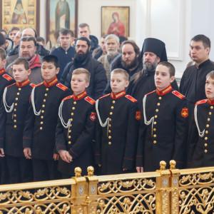 20161120 038 Крещение Кадетов Собор Успения Омск IMG_0798