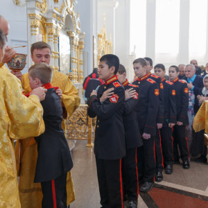 20161120 047 Крещение Кадетов Собор Успения Омск IMG_0831