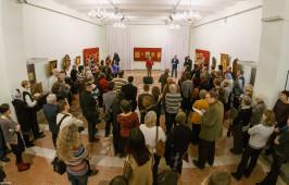 В Омске состоялось открытие выставки современного храмового искусства и презентация книги «Омская икона рубежа XX–XXI веков»