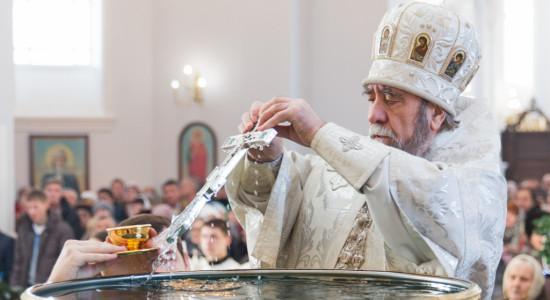 Фото крещения в омске