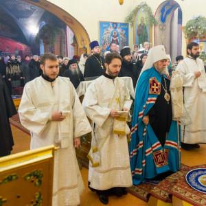 20170122 005 Литургия Никольский мужской монастырь Омск Владимир (Иким) IMG_3383