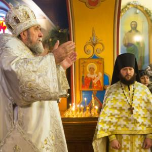 20170122 009 Литургия Никольский мужской монастырь Омск Владимир (Иким) IMG_3393