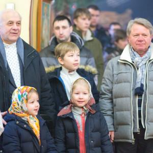20170122 014 Литургия Никольский мужской монастырь Омск Владимир (Иким) IMG_3406