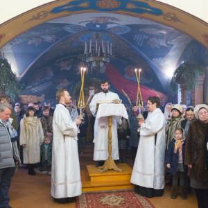 20170122 022 Литургия Никольский мужской монастырь Омск Владимир (Иким) IMG_3425