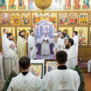 20170122 025 Литургия Никольский мужской монастырь Омск Владимир (Иким) IMG_3433