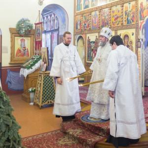 20170122 029 Литургия Никольский мужской монастырь Омск Владимир (Иким) IMG_3447