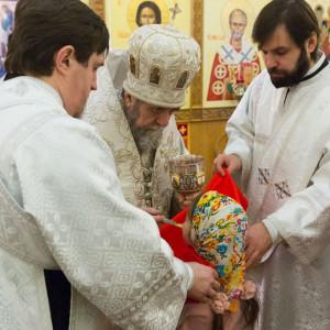 20170122 045 Литургия Никольский мужской монастырь Омск Владимир (Иким) IMG_3498