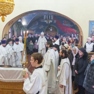 20170122 049 Литургия Никольский мужской монастырь Омск Владимир (Иким) IMG_3524