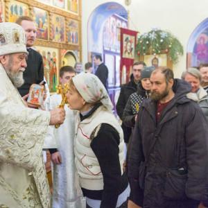 20170122 063 Литургия Никольский мужской монастырь Омск Владимир (Иким) IMG_3601