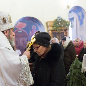 20170122 066 Литургия Никольский мужской монастырь Омск Владимир (Иким) IMG_3621