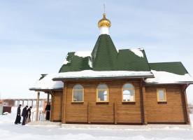 Митрополит Владимир благословил подготовительные работы по строительству храма в с. Дружино