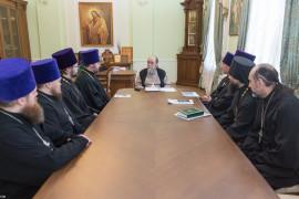 20170213 005 Совещание Омская Епархия Омск Владимир (Иким) IMG_4003