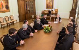 Митрополит Владимир встретился с духовенством отдела по тюремному служению Омской епархии