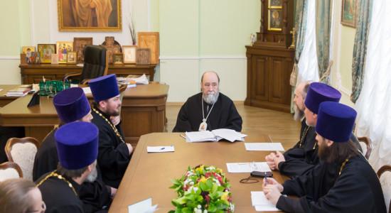 20170222 008 Совещание Омская Епархия Омск Владимир (Иким) IMG_1177