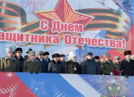 Митрополит Владимир принял участие в мероприятиях, посвященных Дню защитника Отечества