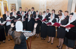 Концерт, ставший молитвой о скорейшем окончании реставрационных работ Свято-Никольского казачьего собора