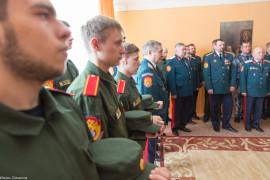20170407 205 Чин освящения воды Первый казачий университет Омск IMG_8178