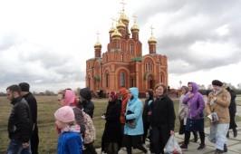 Слушатели курсов повышения квалификации: «Основы духовно-нравственной культуры Православия» оказали посильную помощь Ачаирскому женскому монастырю