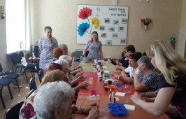 Мастер-класс по мыловарению для престарелых и инвалидов