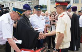 Митрополит Владимир поздравил выпускников Омского кадетского военного корпуса