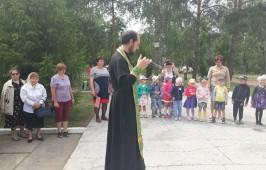 В п. Черёмуховское состоялся митинг, посвященный началу войны.