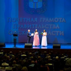 митрополит Омский и Таврический Владимир (Иким) поздравляет медицинских работников  (9 из 22)
