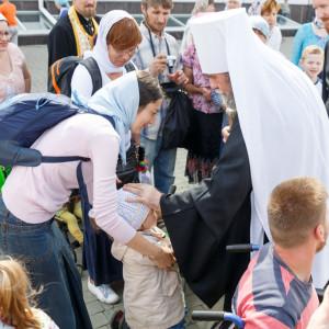 20170730 125 Крестный ход ко дню празднования Крещения Руси Омск митр. Владимир (Иким) IMG_6938