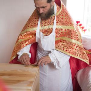 Освящение храма в Орловке митрополитом Омским и Таврическим Владимиром (13 из 55)