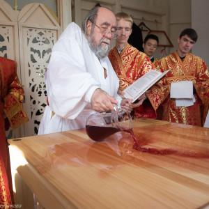 Освящение храма в Орловке митрополитом Омским и Таврическим Владимиром (16 из 55)