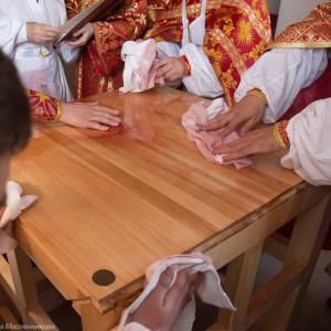 Освящение храма в Орловке митрополитом Омским и Таврическим Владимиром (17 из 55)