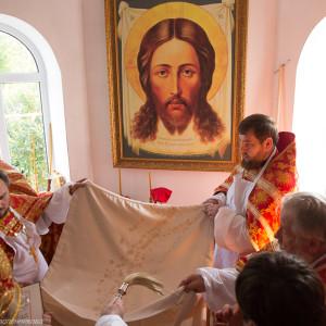 Освящение храма в Орловке митрополитом Омским и Таврическим Владимиром (20 из 55)