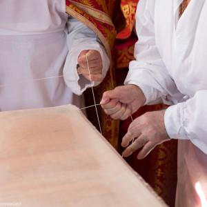Освящение храма в Орловке митрополитом Омским и Таврическим Владимиром (22 из 55)